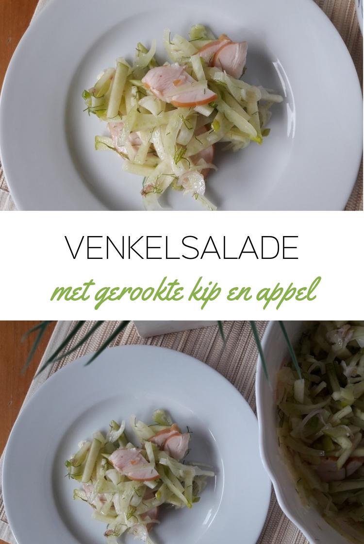 Venkelsalade met Appel & Gerookte Kipfilet
