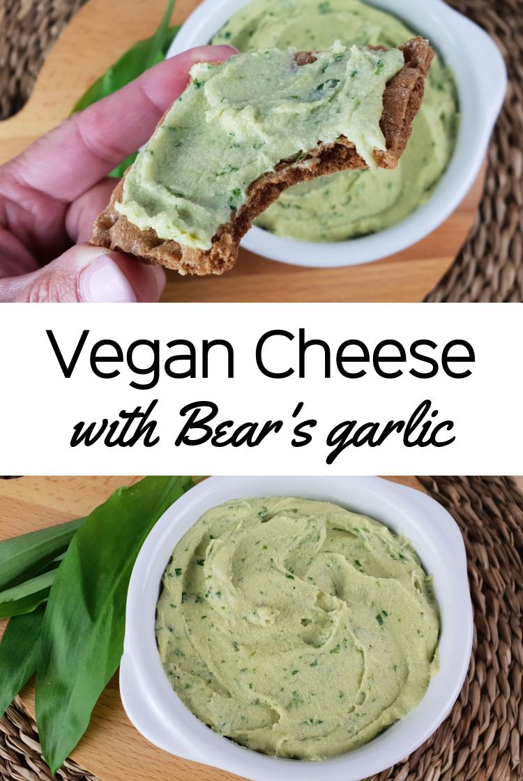 Vegan Cheese with Bear's garlic