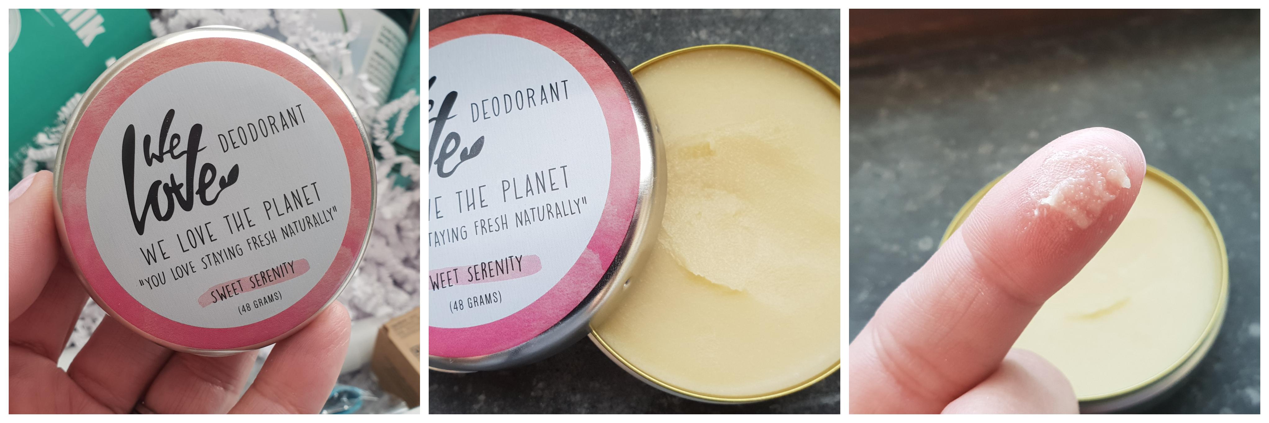 We Love The Planet deodorant