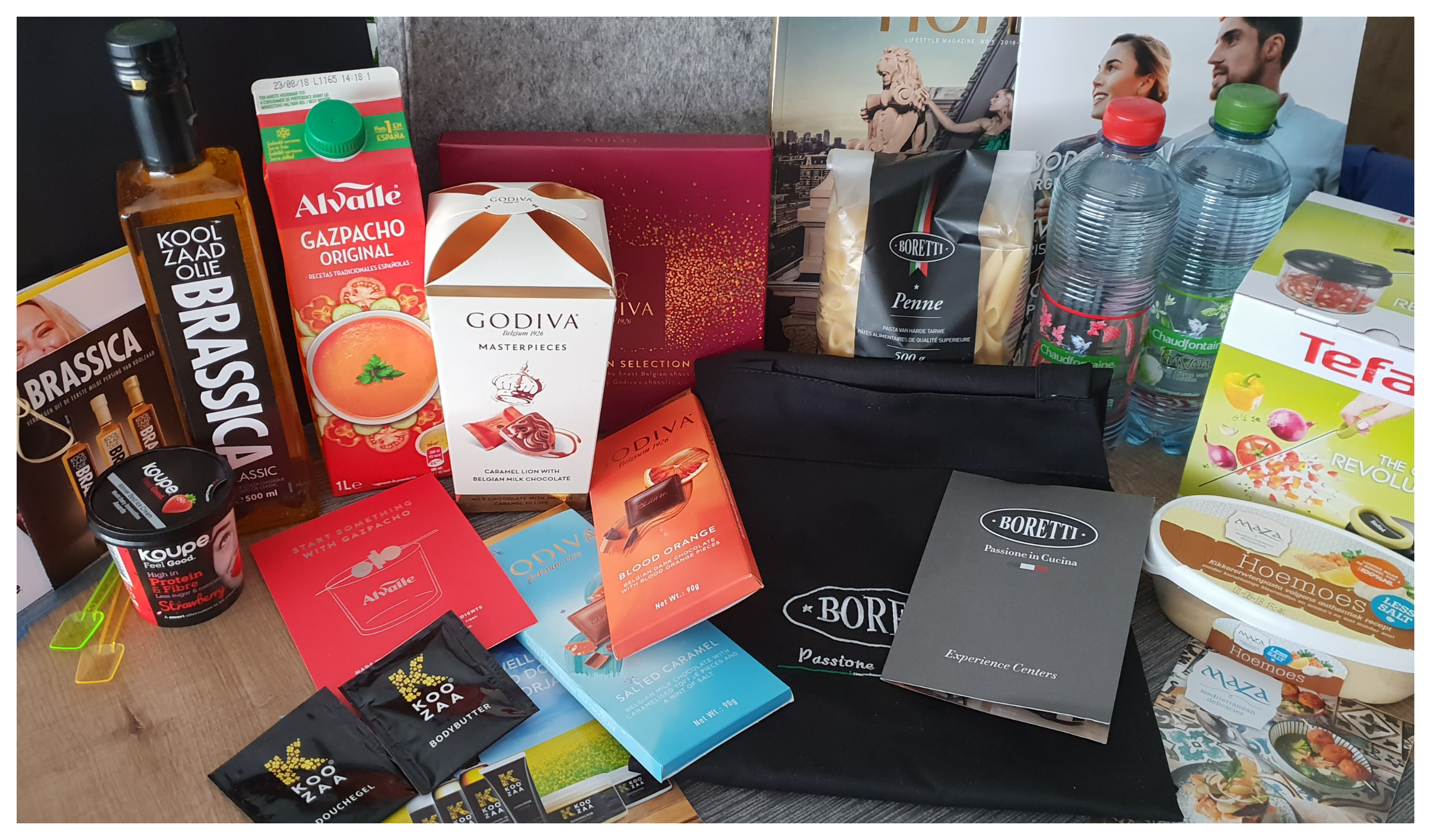 The Grand Blogger Dinner - de goodiebag