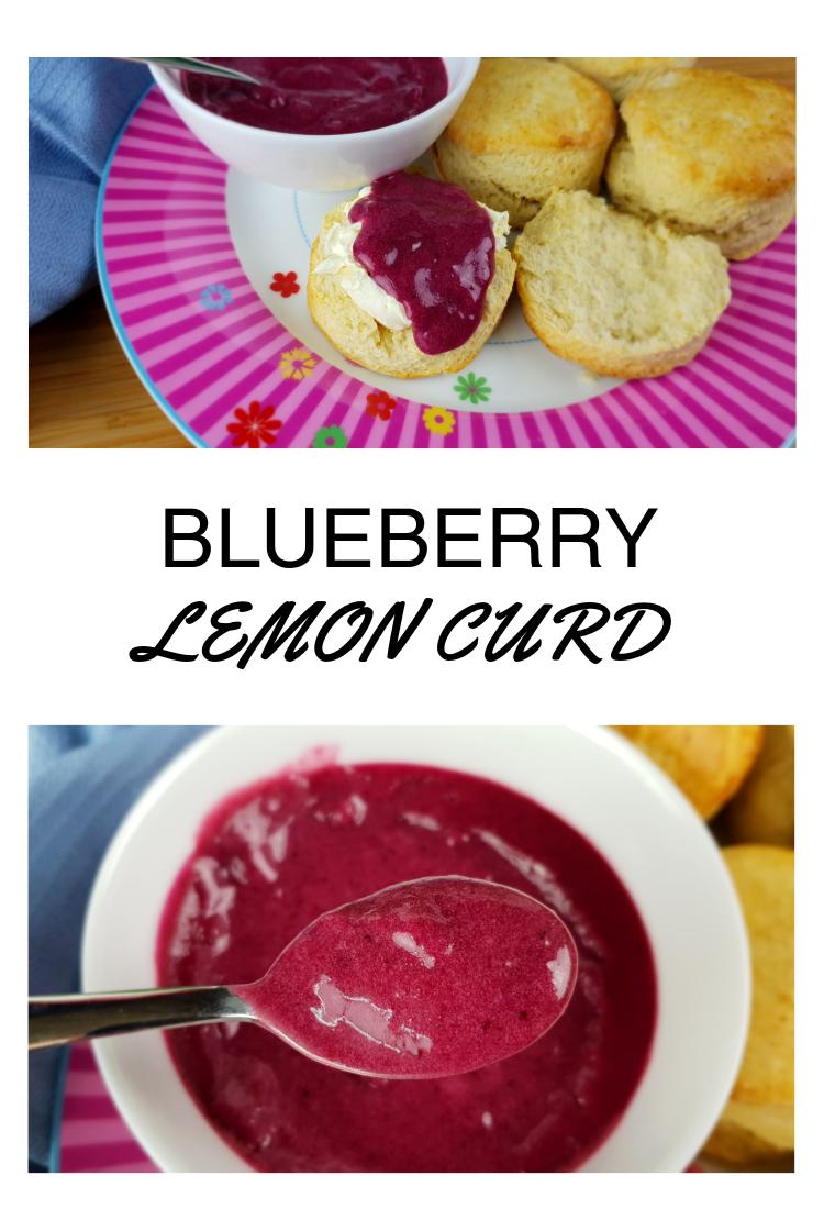 Blueberry Lemon Curd