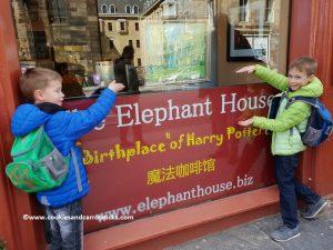Edinburgh, voor The Elephant House