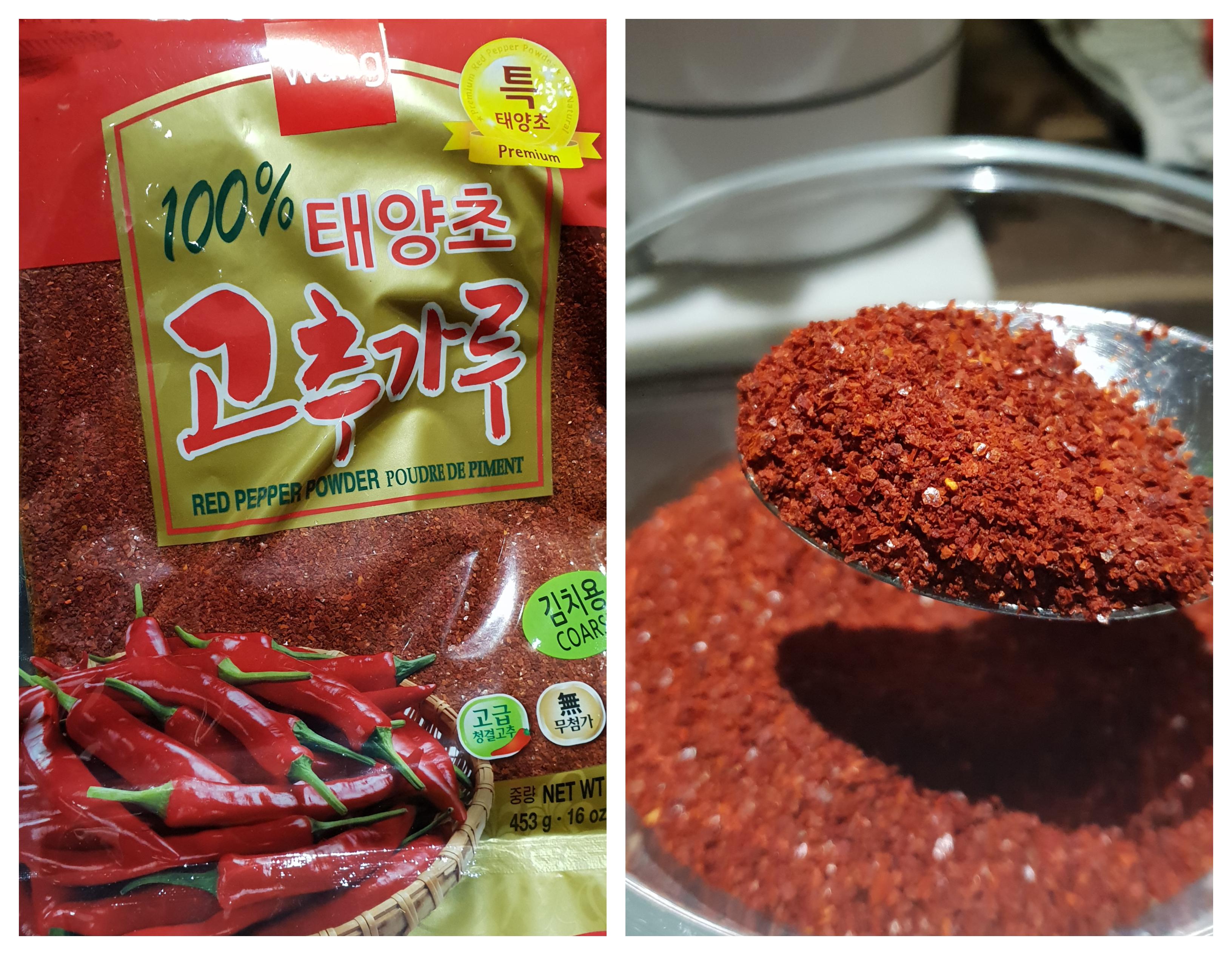Rode peper poeder voor Kimchi