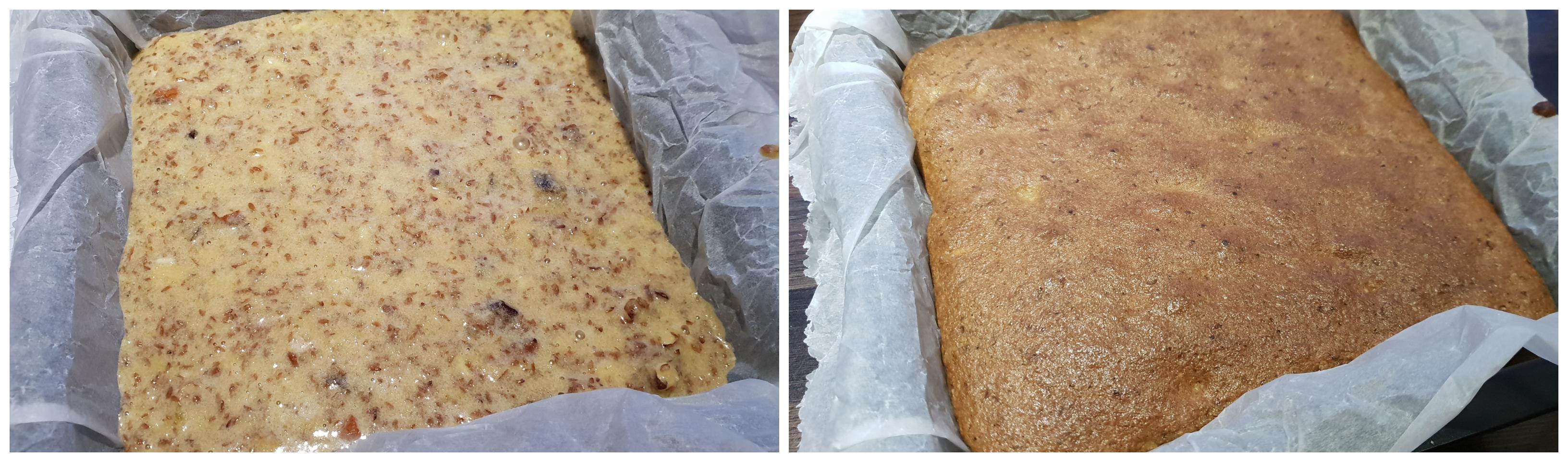 Dadel Amandel Cake - bakken