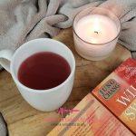 Warme appeldrank met hibiscus