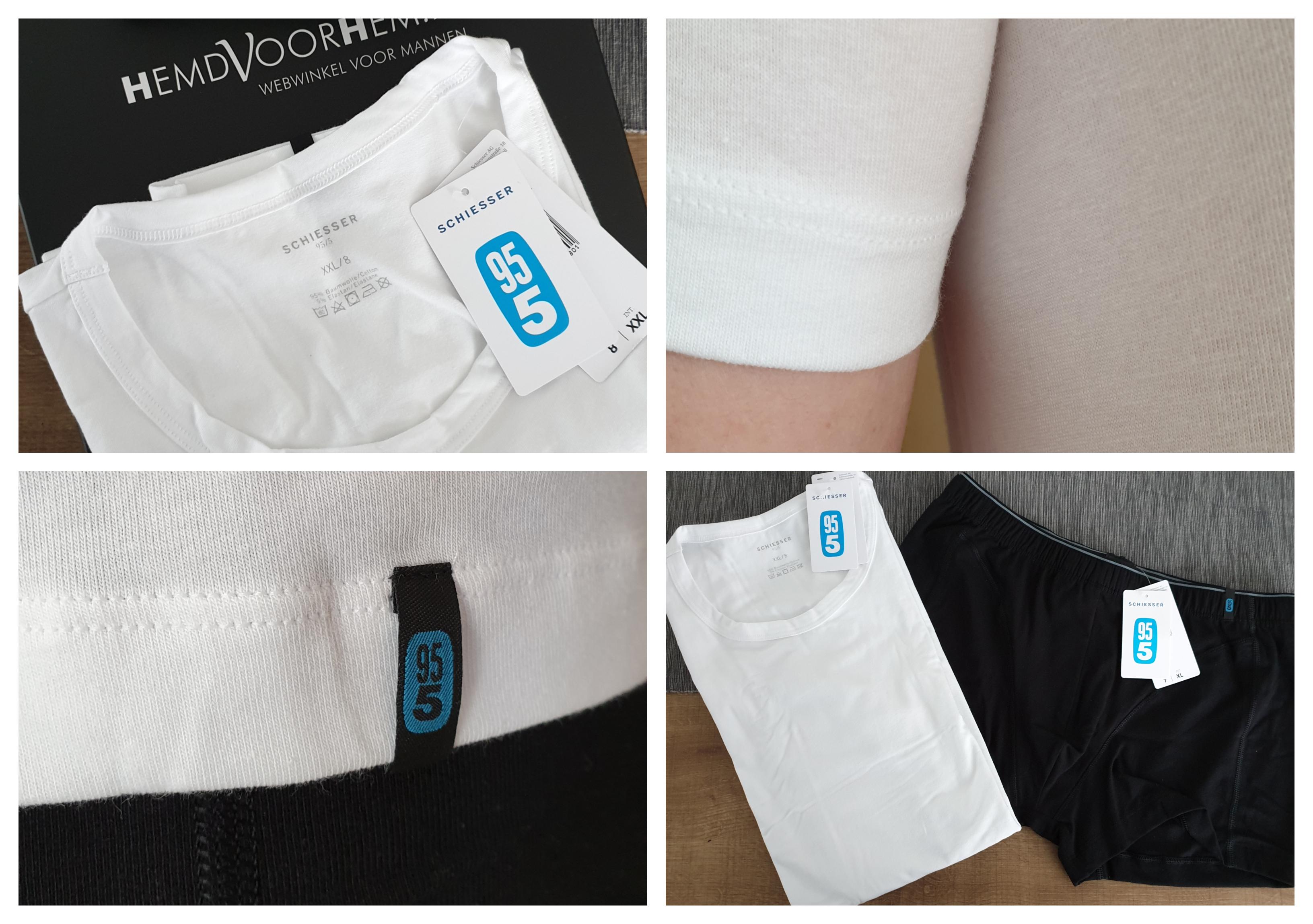 De 95/5 lijn van Schiesser - ondergoed voor mannen