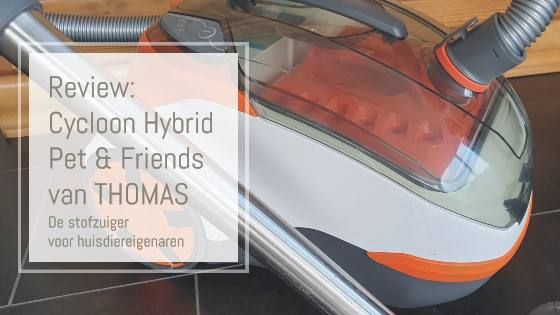 Thomas Cycloon Hybrid Pet & Friends stofzuiger