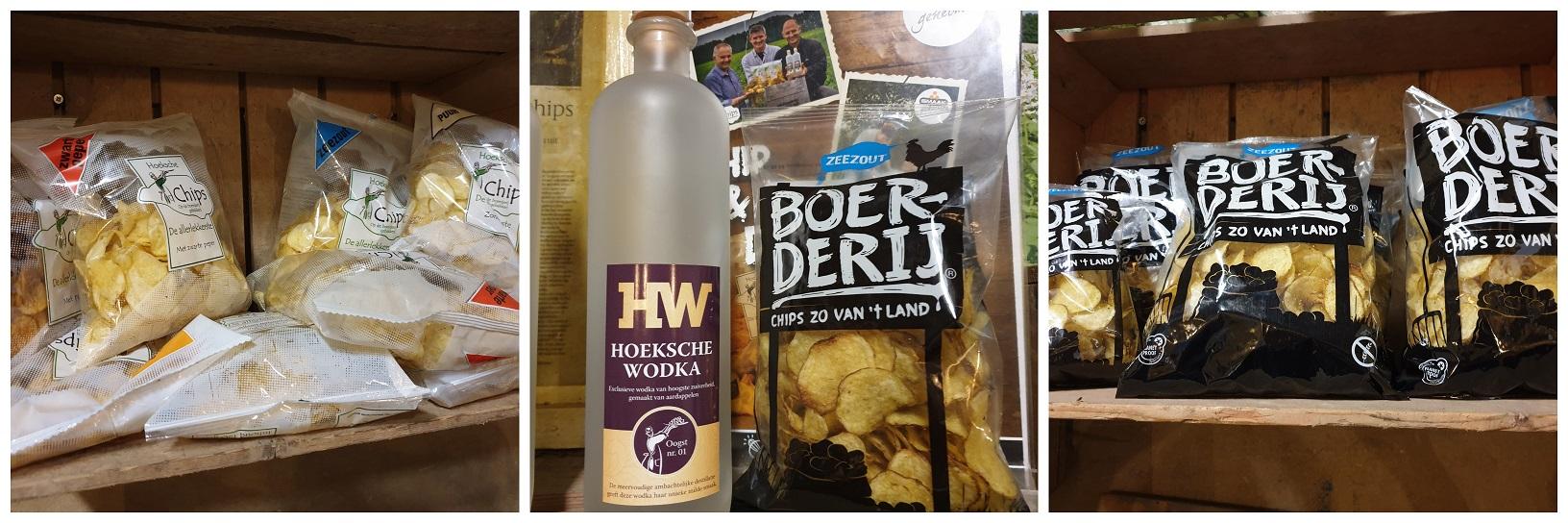 Hoeksche Chips en Boerderij Chips