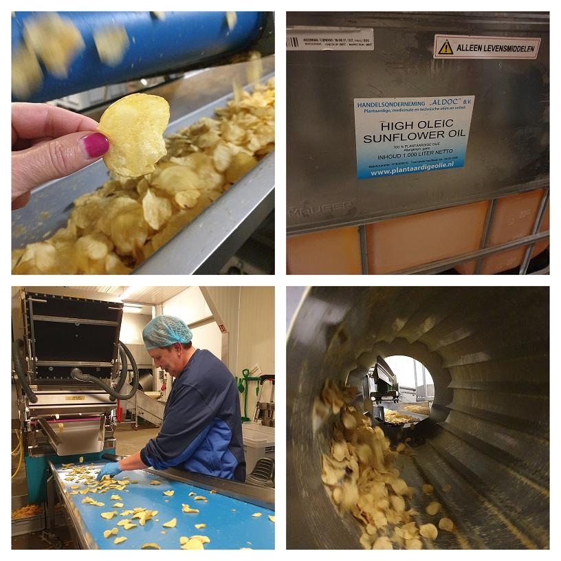 Productie en strenge controle van de Boerderij Chips