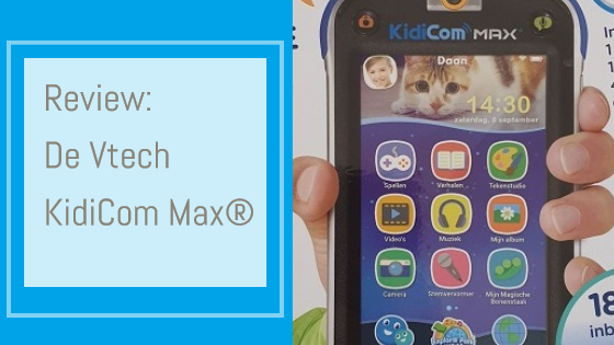 Review Vtech KidiCom Max