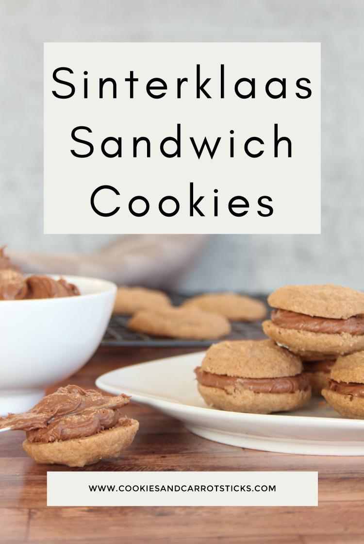PIN foto voor de Sinterklaas Sandwich Cookies