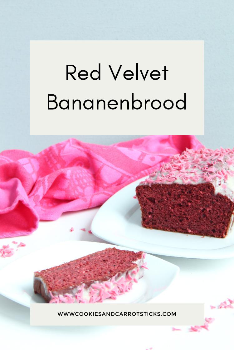 Red Velvet Bananenbrood pinafbeelding