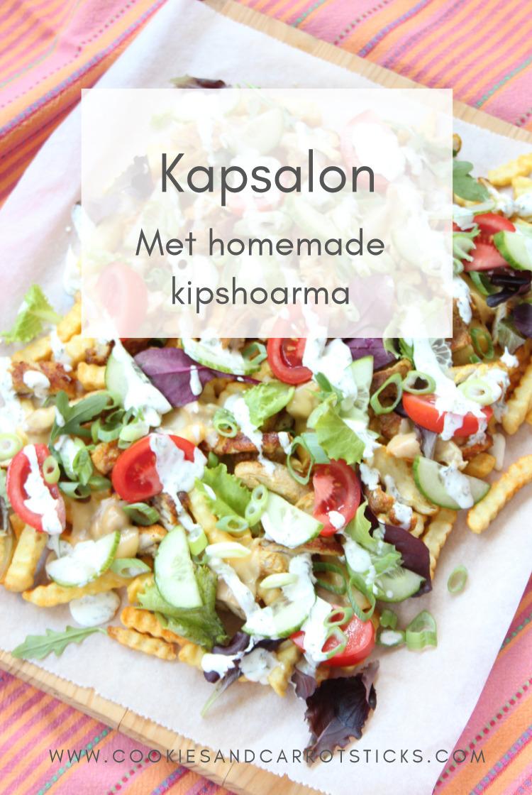 Pinafbeelding Kapsalon met homemade kipshoarma