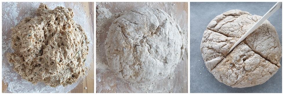 Het brood vormen