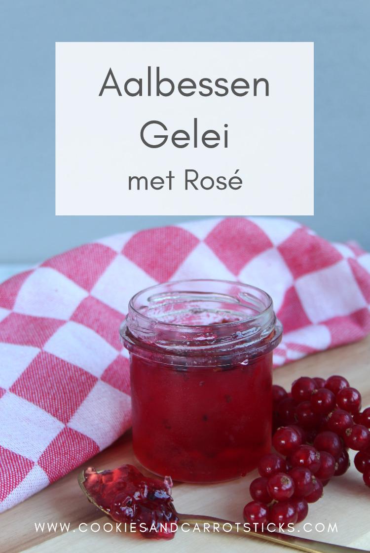 PIN-afbeelding aalbessengelei met rosé