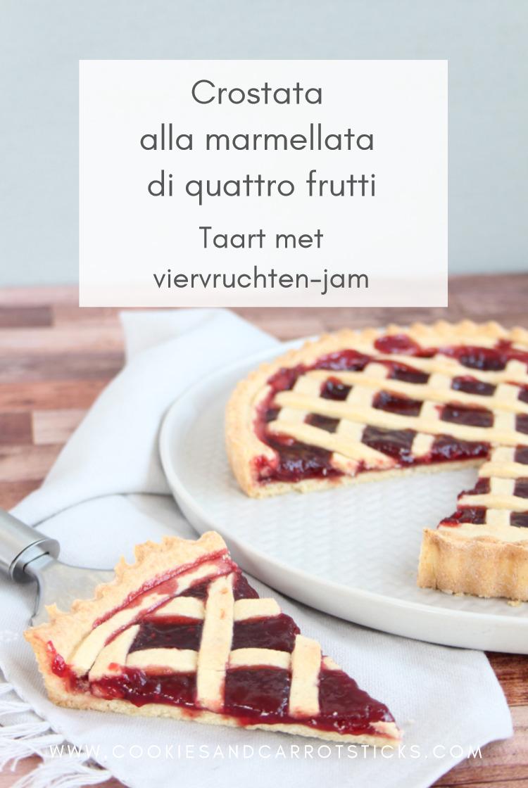 Crostata alla marmellata di quattro frutti PIN afbeelding