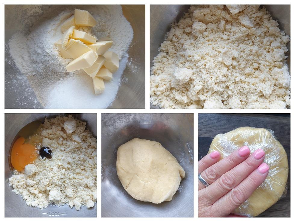 Deeg voor crostata voorbereiden
