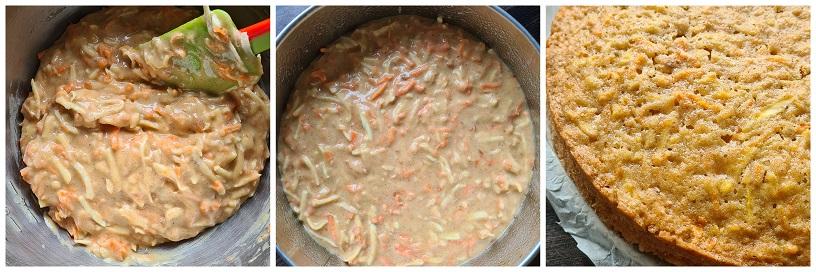 Pastinaak-worteltaart bakken