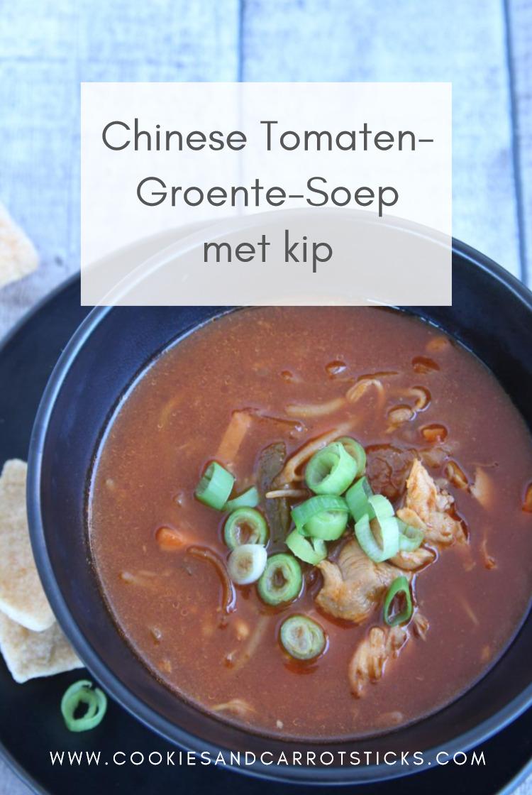 Chinese Tomaten-Groentesoep PIN afbeelding
