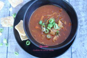 Chinese Tomaten-Groentesoep