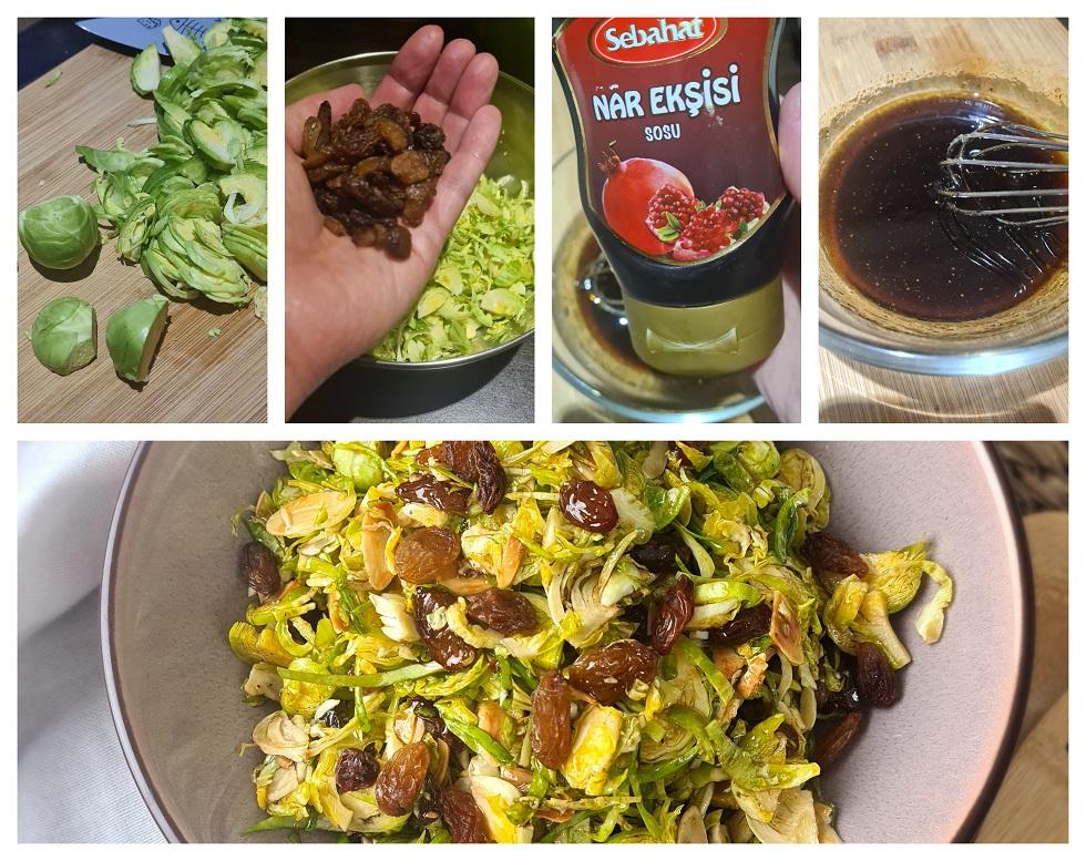 Rauwe spruitjessalade maken