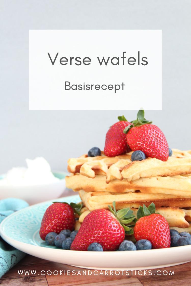 Verse wafels - basisrecept PIN afbeelding