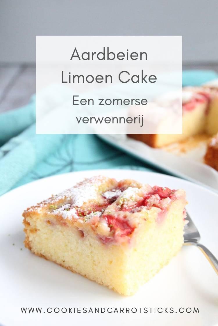 Aardbeien Limoen Cake pinafbeelding2