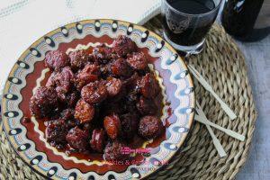 Chorizo in rode wijn